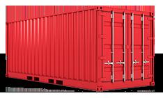 Transporte de contenedores desde los principales puertos